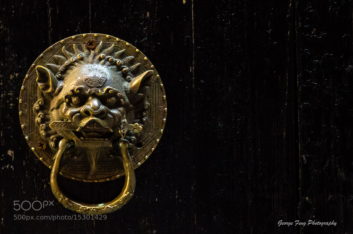 Photograph Doorknob by George Feng on 500px