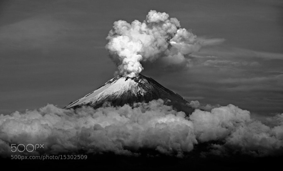 Photograph Smoking Volcano  by Cristobal Garciaferro Rubio on 500px