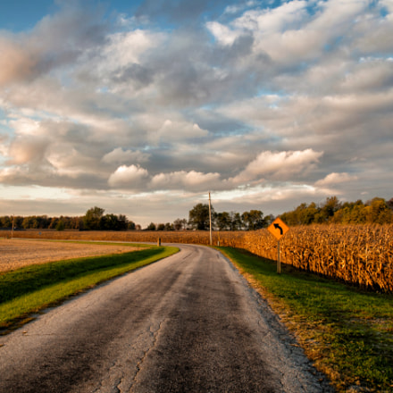 Indiana Country Road, Pentax K-01, Sigma AF 10-20mm F4-5.6 EX DC