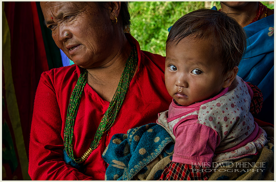 Faces of Nepal:  Runny Nose