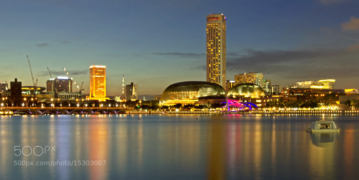 Photograph Esplanade on sunset by Sanya Ad on 500px
