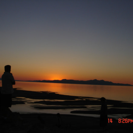 Sunset at Salt lake, Sony DSC-M1