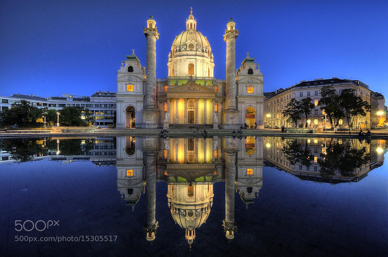 Photograph Karlskirche, Vienna by César Asensio Marco on 500px