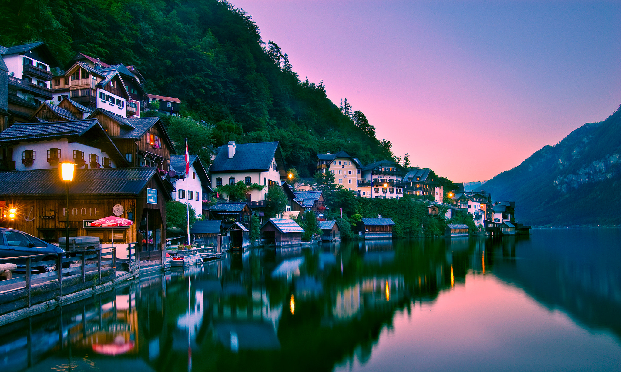 Photograph Early Morning in Hallstatt by Natasha Pnini on 500px