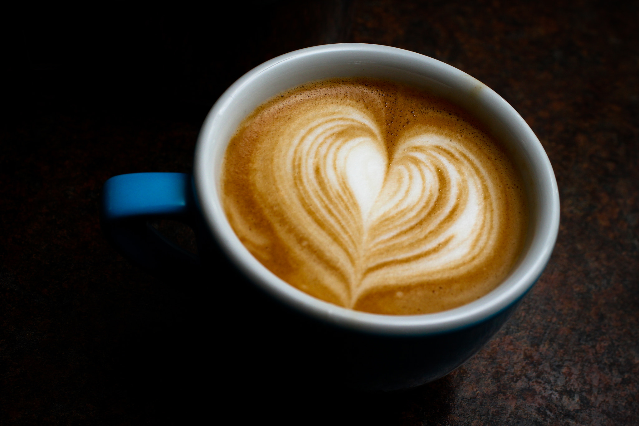 Photograph Cappuccino Milk Pattern by Mark Prince on 500px