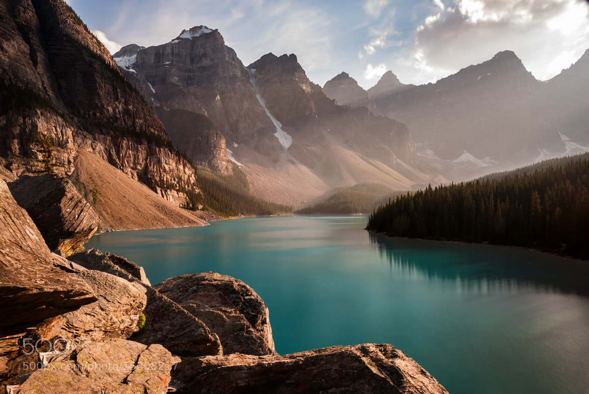 Photograph Moraine Lake by Dominic Walter on 500px