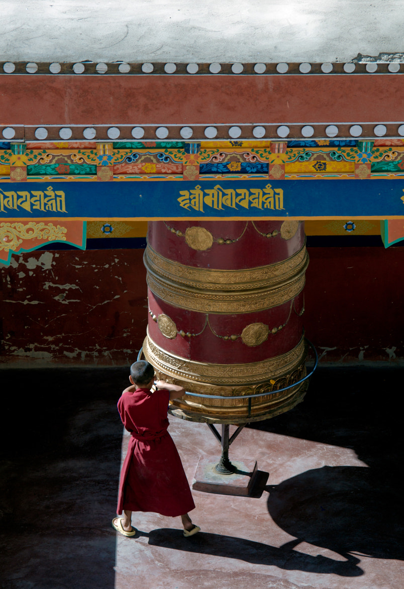 Photograph Young buddhist monk in Ladakh by Sergio Alvarez on 500px