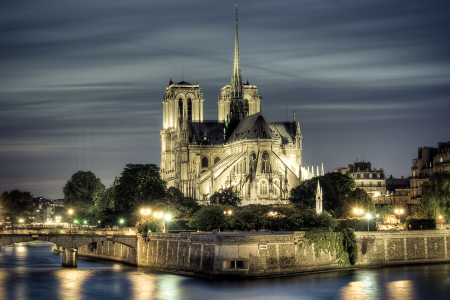 Photograph Notre-Dame by Eddy C on 500px