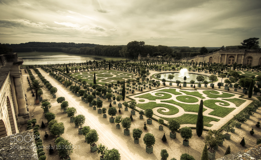 Photograph Orangerie de Versailles by Eddy C on 500px