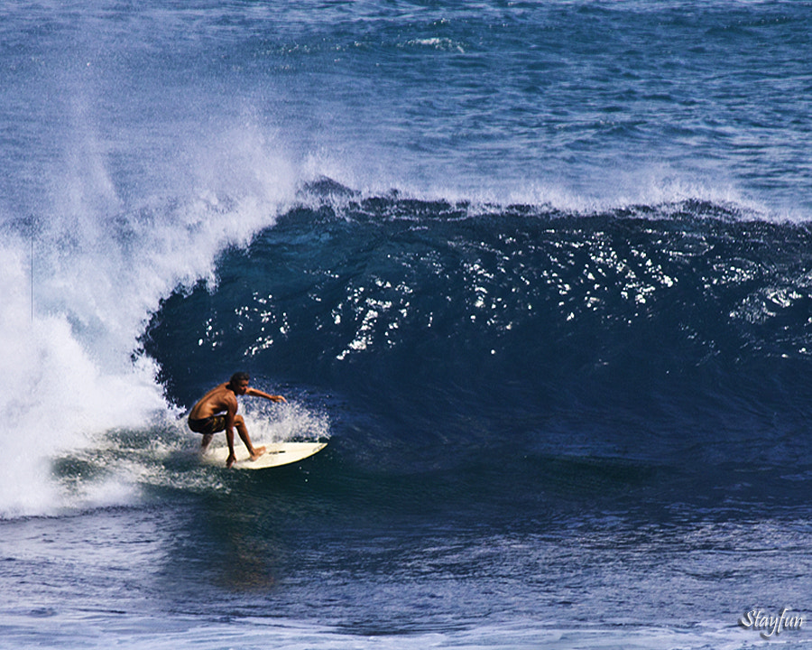 Photograph Surfing by Stephen Edward on 500px