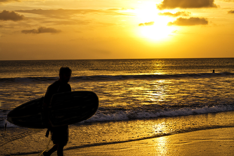 Photograph Sunset Surf by Stephen Edward on 500px