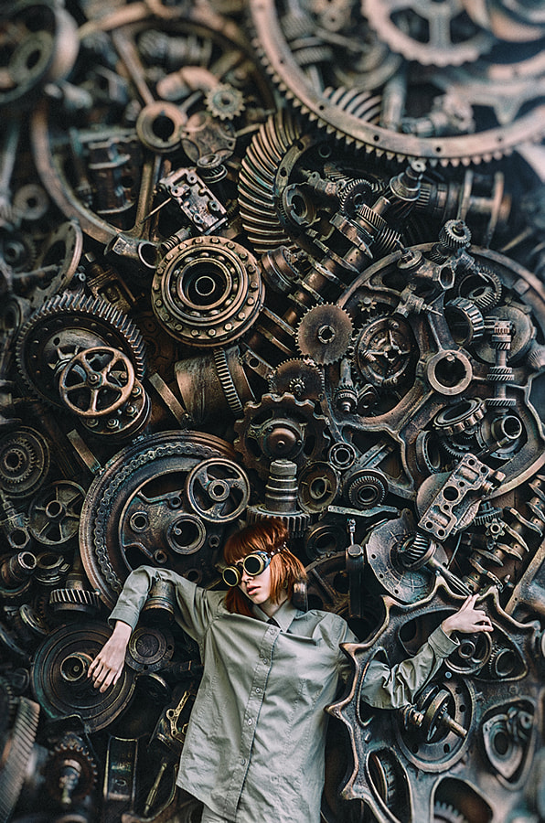 bio mechanism by Inna Mosina on 500px.com