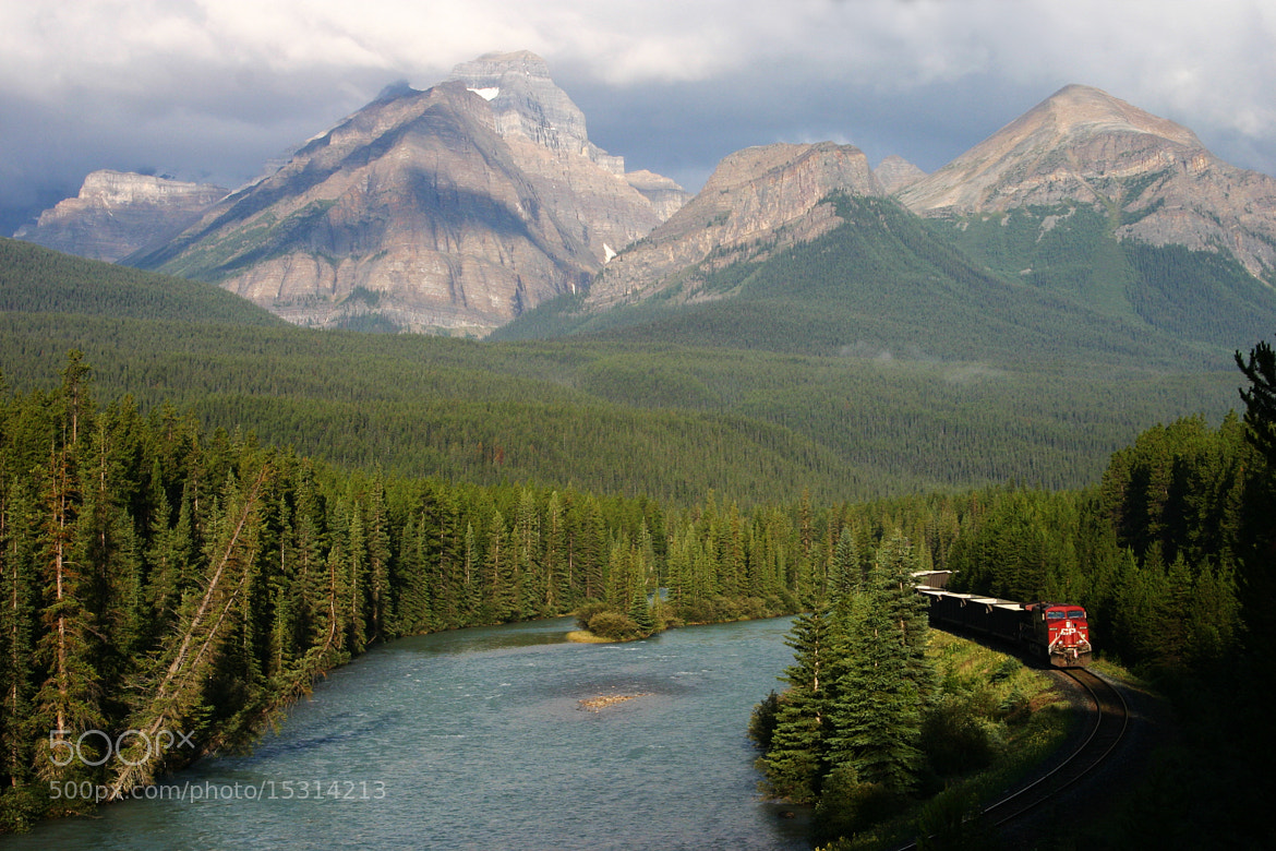 Photograph Train Canada by Ronald Krieger on 500px