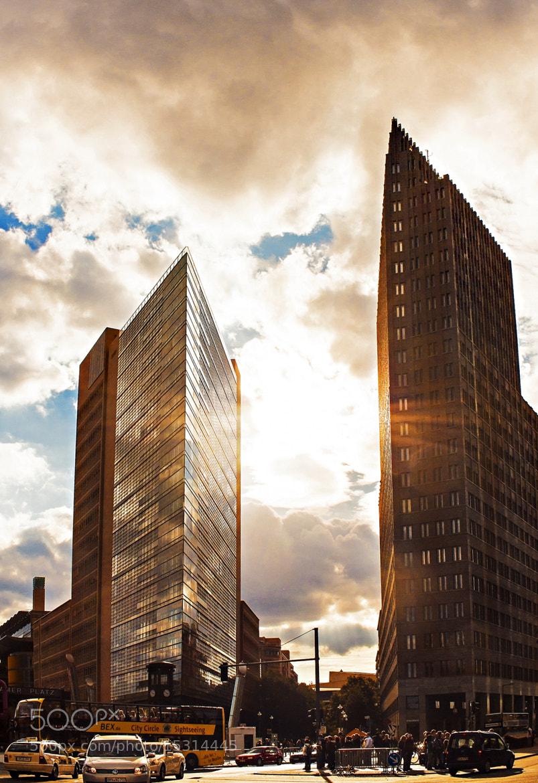 Photograph Berlin Potsdamer Platz by Heike Schein on 500px
