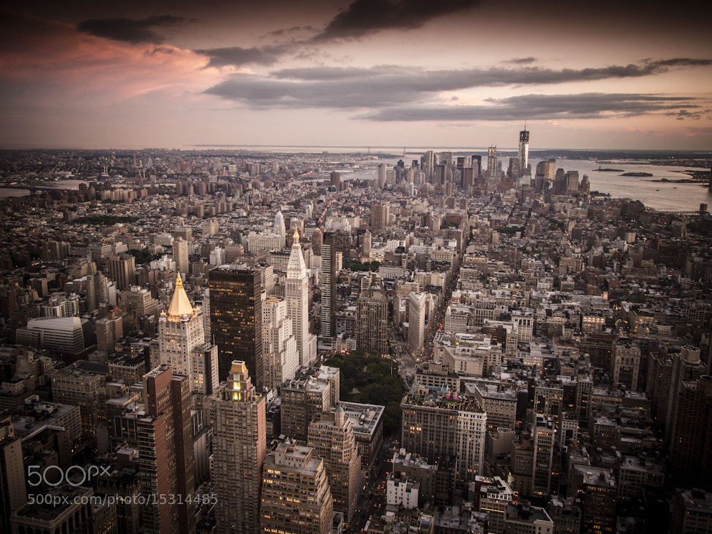 Photograph NY Manhattan at dusk by Stefano Montagner on 500px