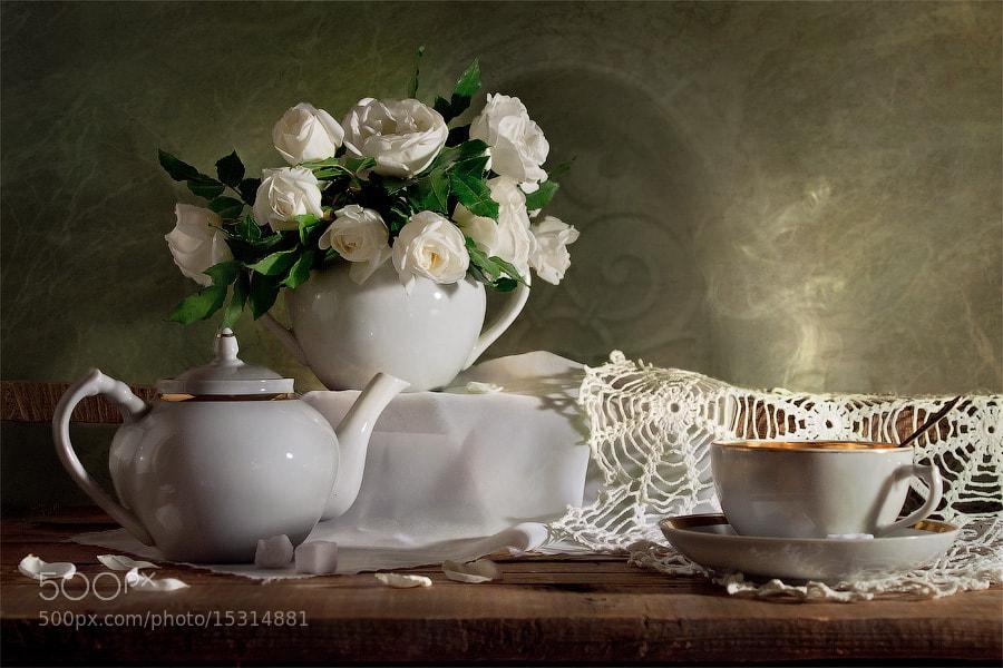 Photograph tea rose fragrance by Viktoria Imanova on 500px