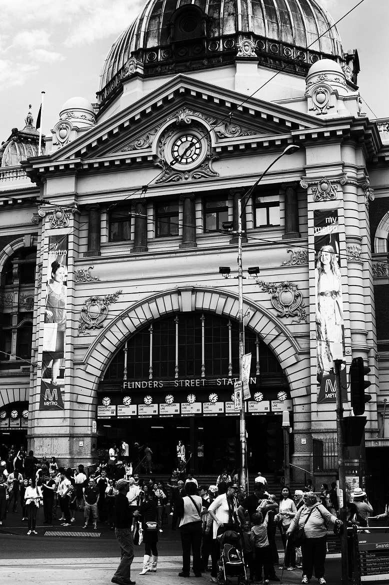 Photograph Flinders Street Station, Melbourne. by Mark  on 500px