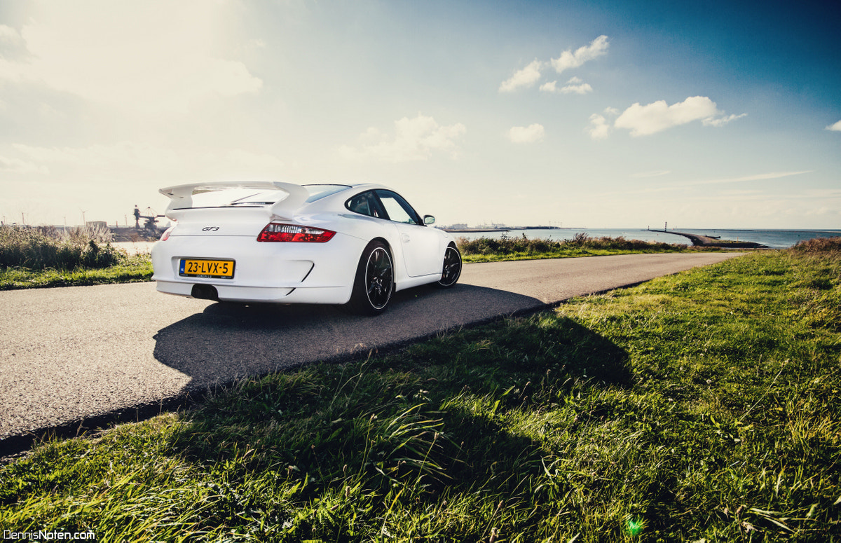 Photograph Porsche 997 GT3. by Dennis  Noten on 500px