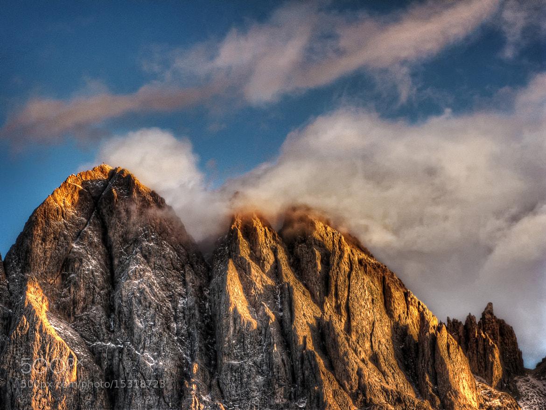 Photograph Mountain Peaks by Frank Bramkamp on 500px