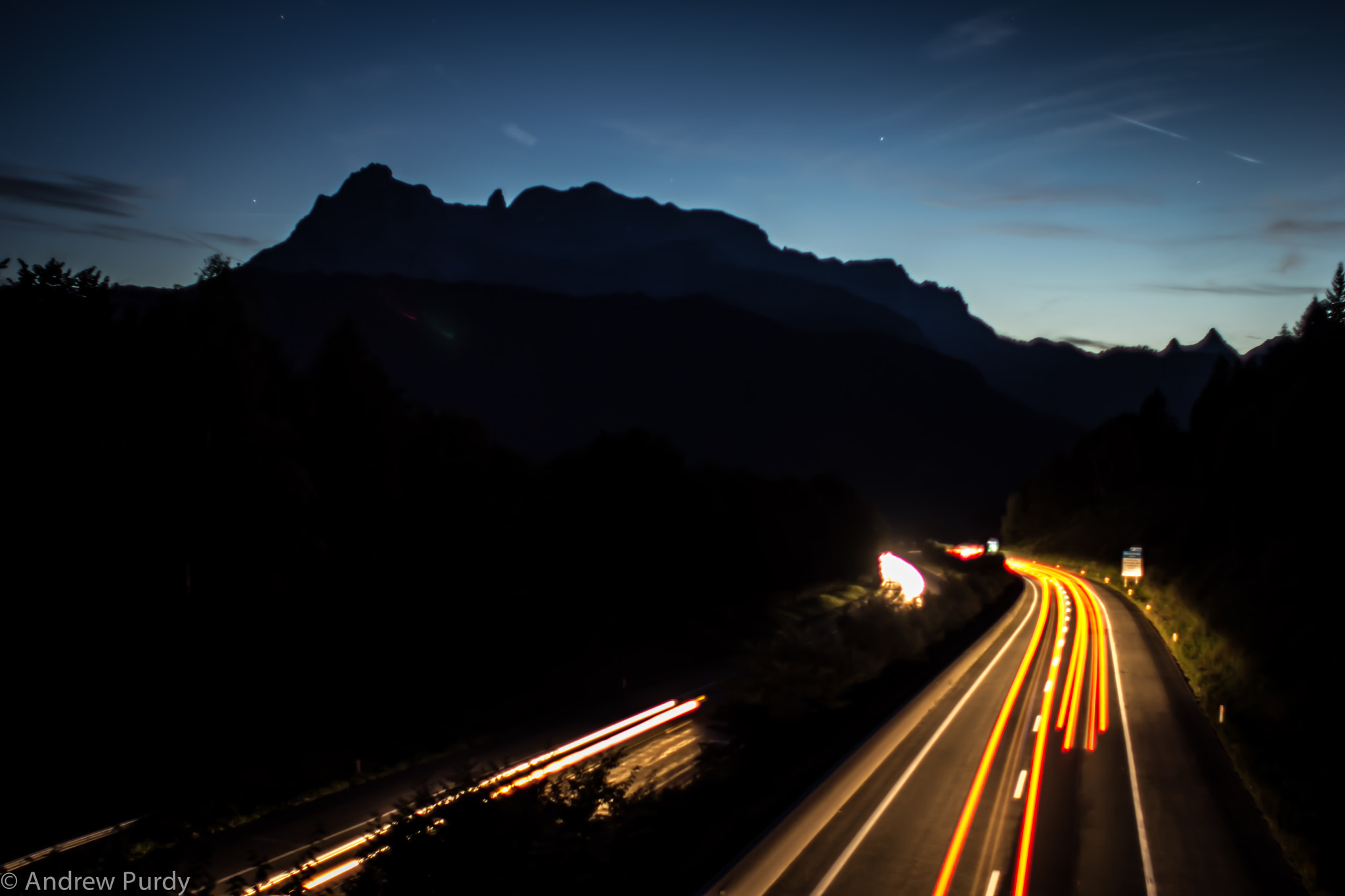 Photograph Alpine Blur by Andrew Purdy on 500px
