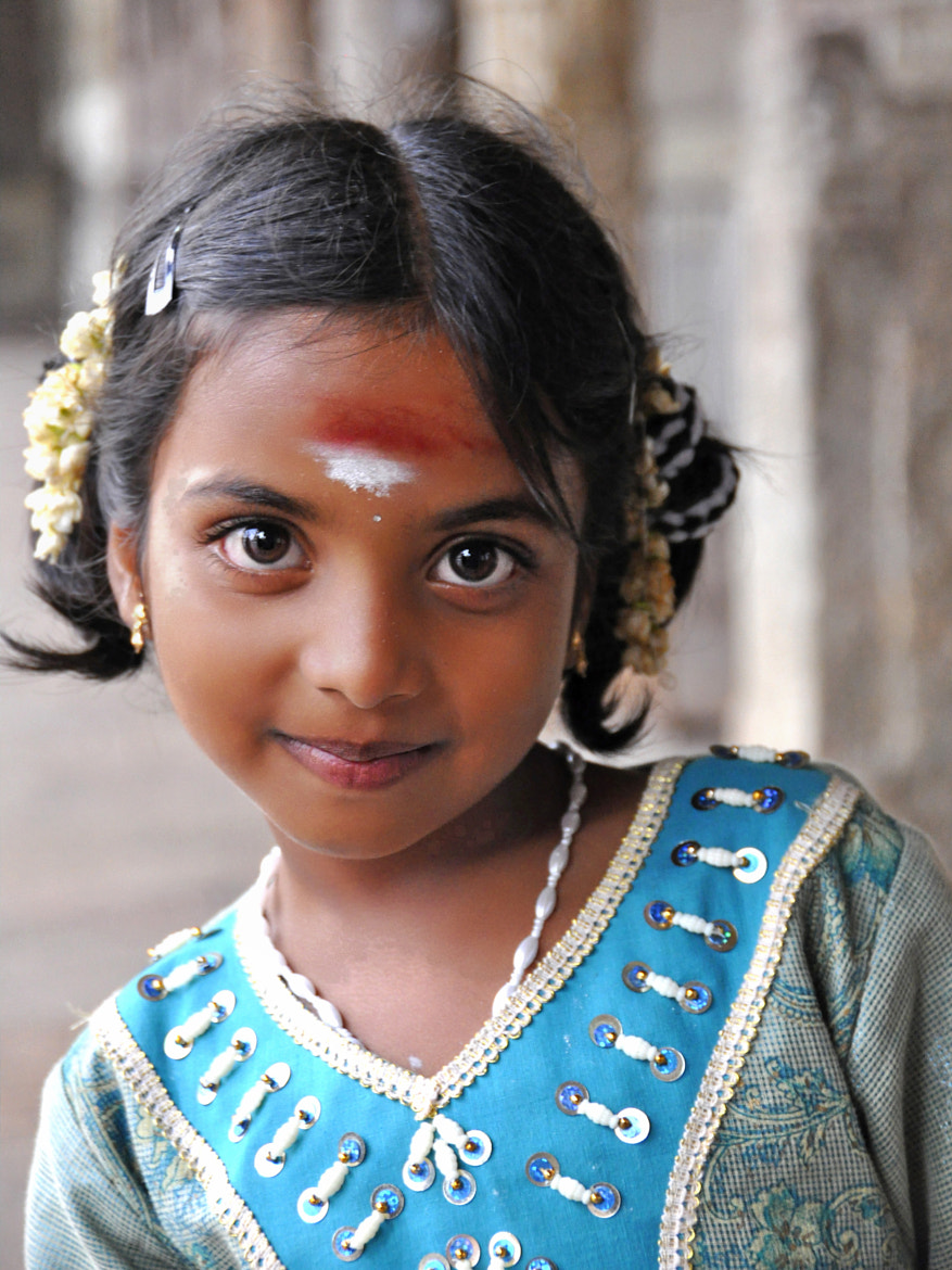 Photograph Indian girl charms by Joe Routon on 500px