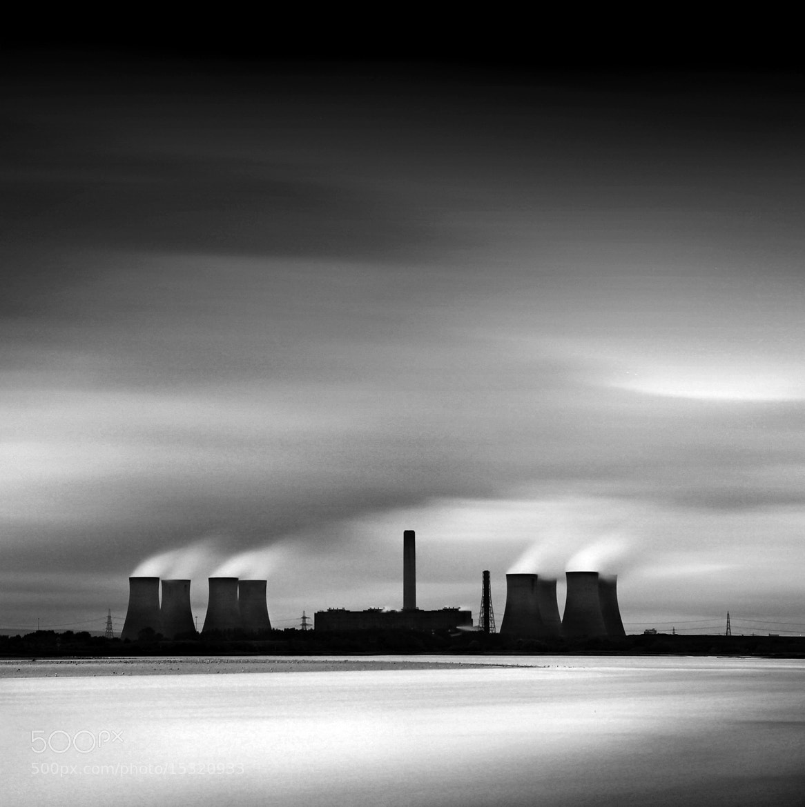 Photograph Fiddlers Ferry Power Station by Charlie Pragnell on 500px