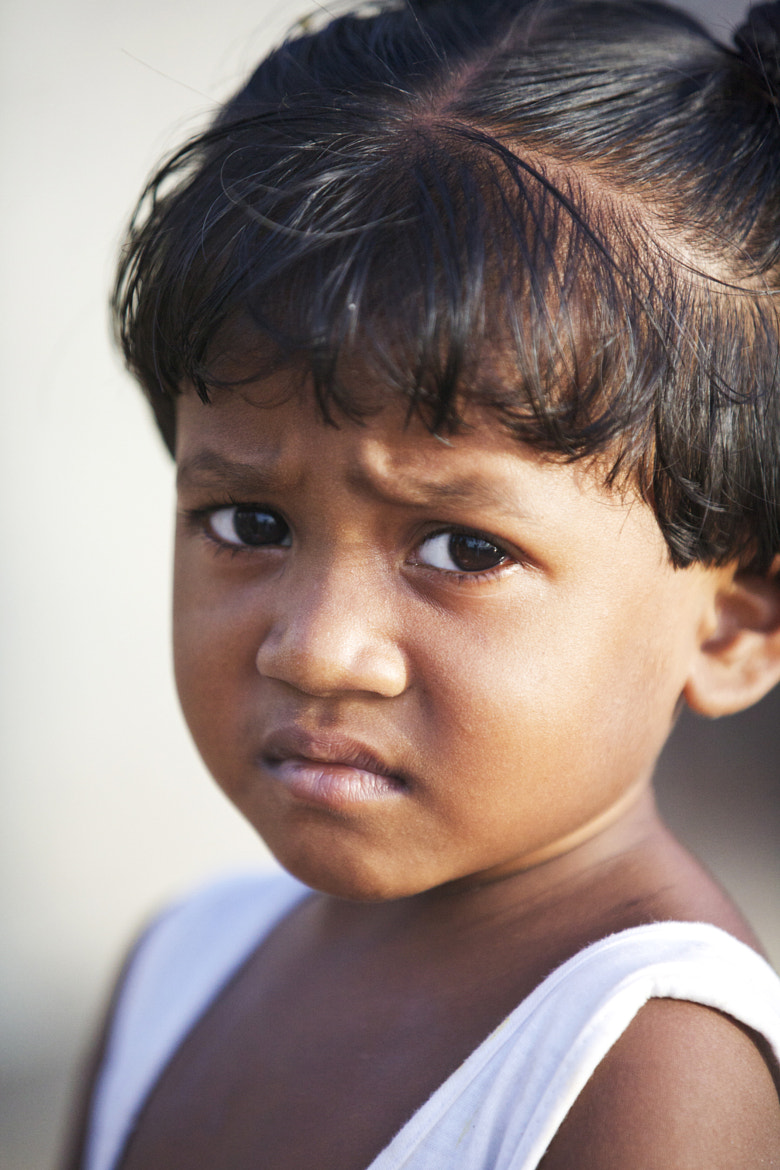 Photograph A girl from Dharavi, Mumbai by Marit Kristine Aasen on 500px