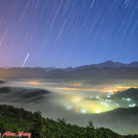金龍山琉璃光星軌 by Allen Yang (AllenYang1) on 500px.com