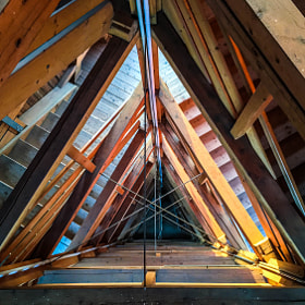 Photograph triangleStairs by Lukas Bachschwell