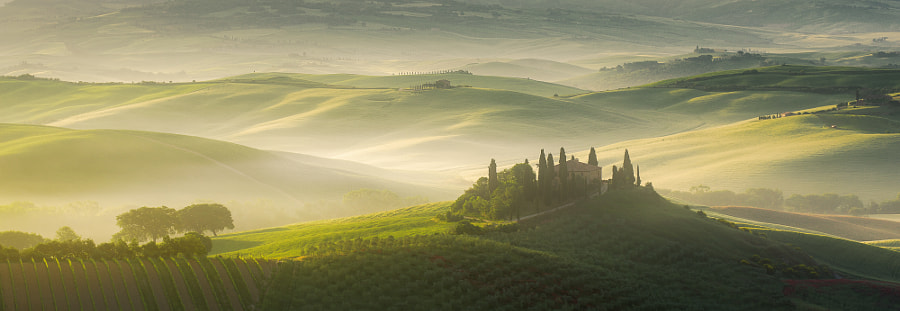 Tuscany Awakening by guerel sahin on 500px.com