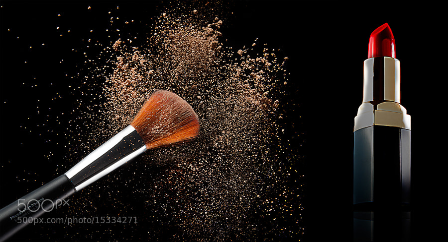 Photograph Cosmetics by Sylvain Millier on 500px