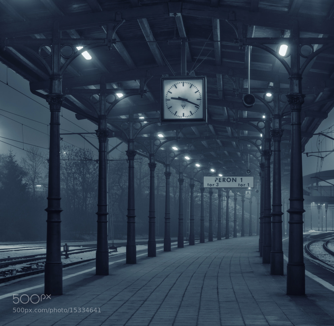 Photograph Old station by Paweł Uchorczak on 500px