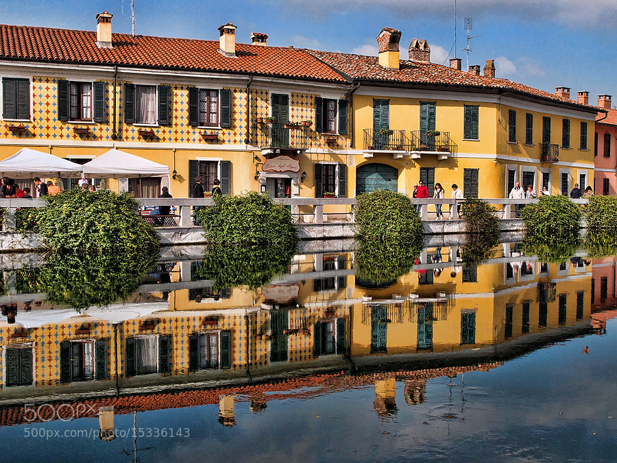 Photograph Naviglio by Elisabetta Vitellozzi on 500px