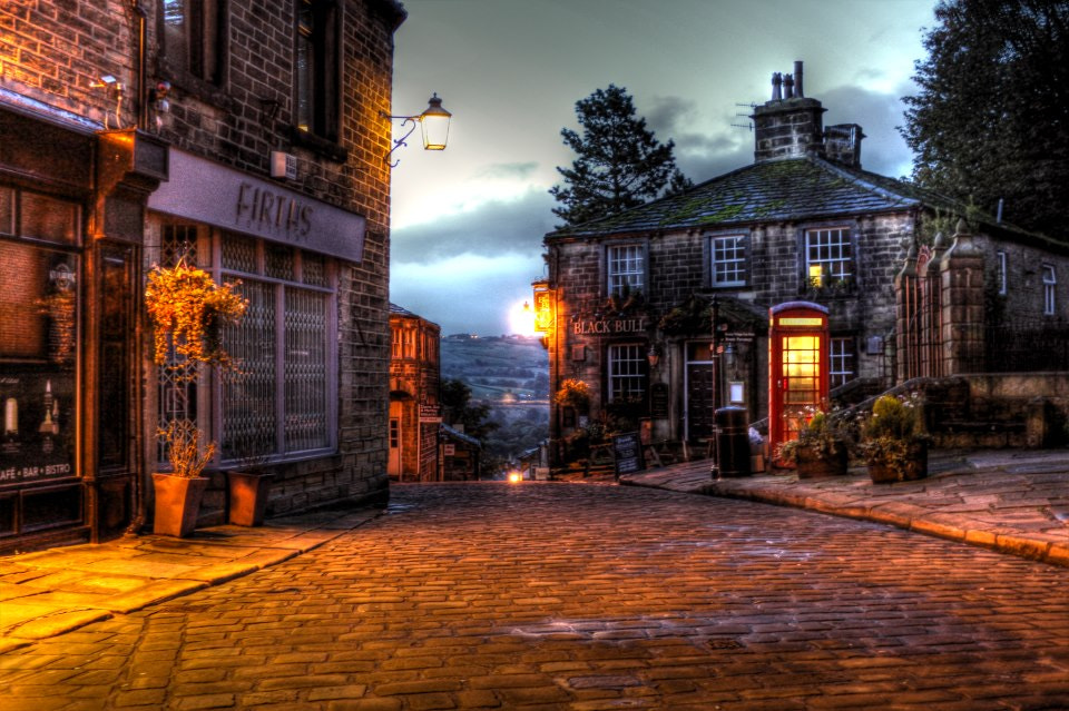 Photograph Haworth Main Street  by Garry Atkinson on 500px