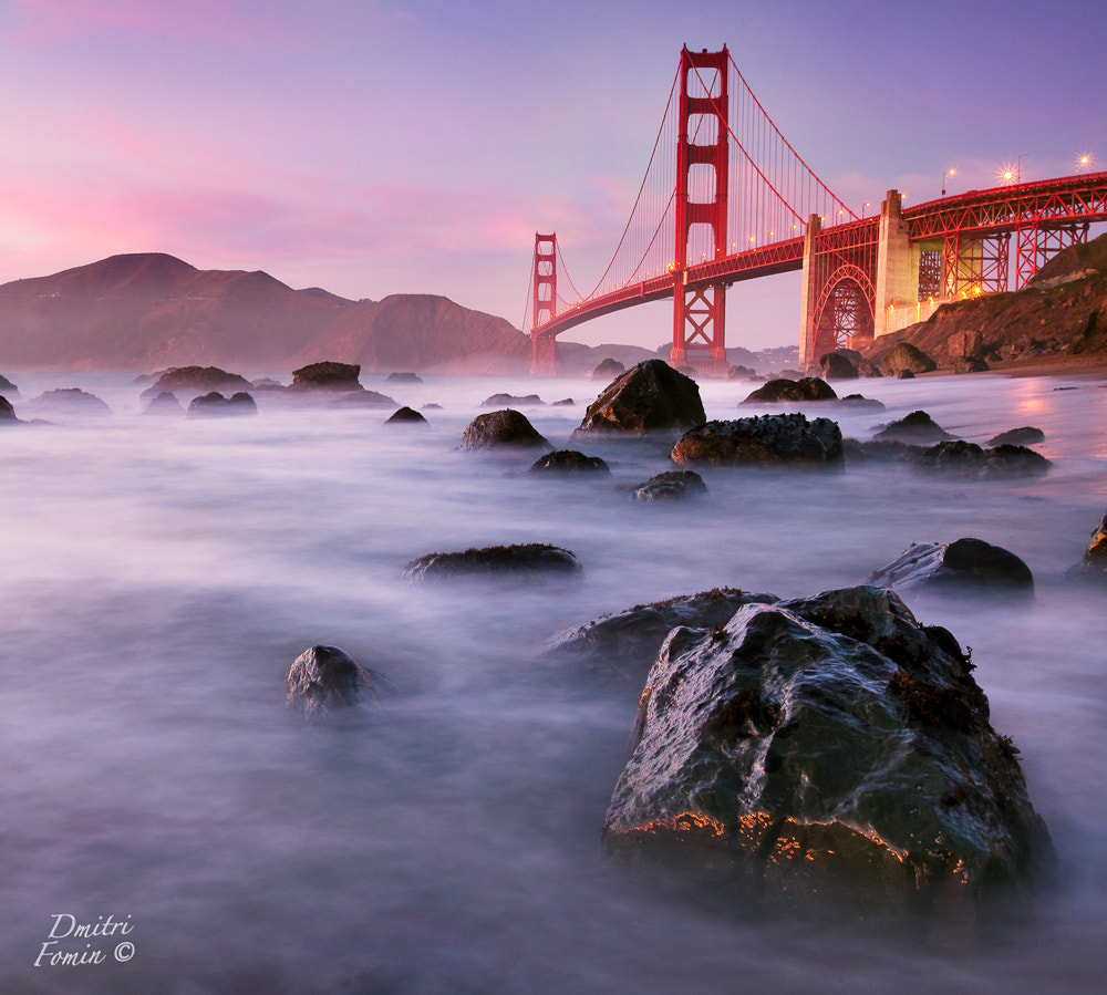 Photograph Golden Gate on the rocks by Dmitri Fomin on 500px