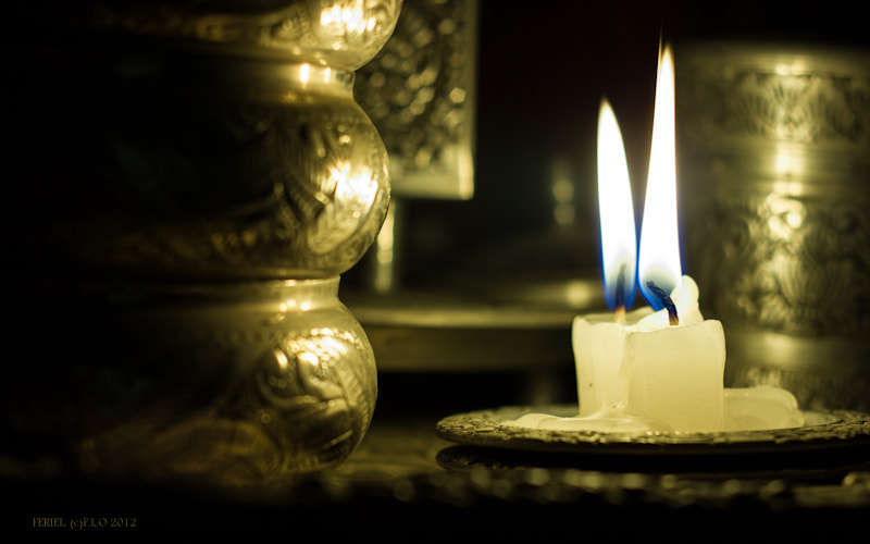 Photograph Candles and light... by Feriel.L O on 500px