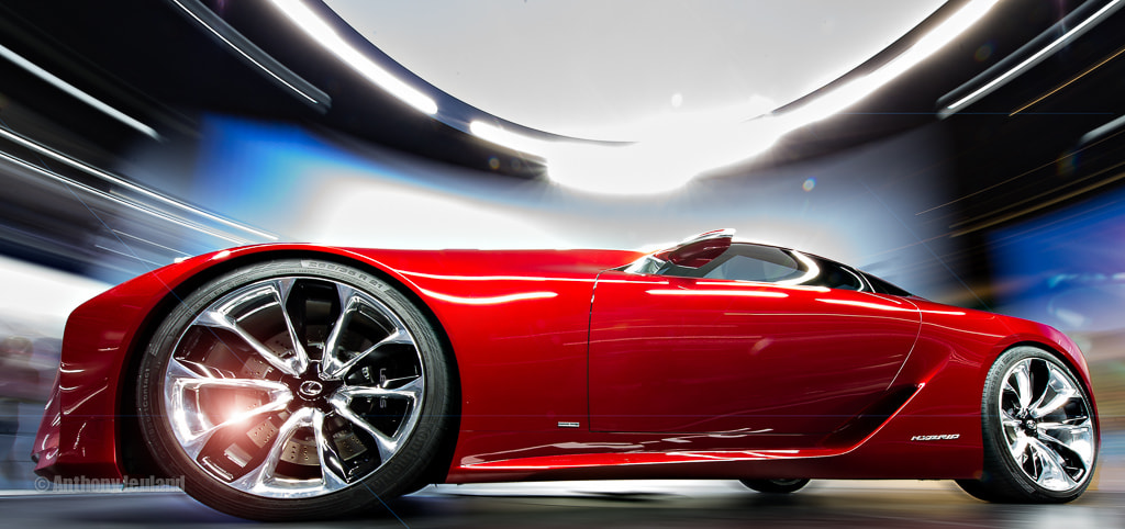 Photograph Lexus LF-LC Concept by Anthony Jeuland on 500px