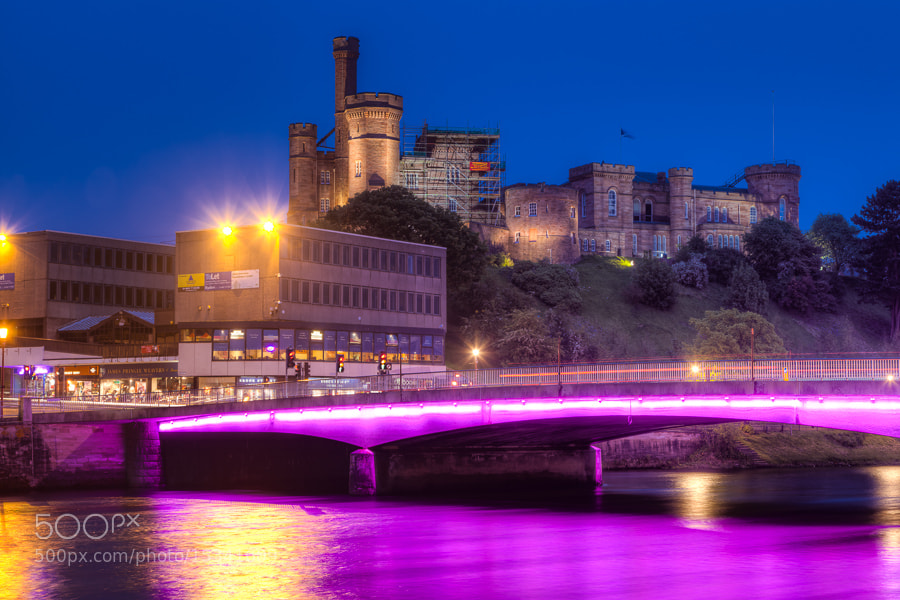 Photograph Young Street Bridge and Inverness Castle, Scotland by Stanton Champion on 500px