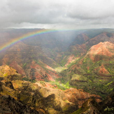 Waimea Canyon, Canon EOS REBEL T2I, Tamron 18-250mm f/3.5-6.3 Di II LD Aspherical [IF] Macro