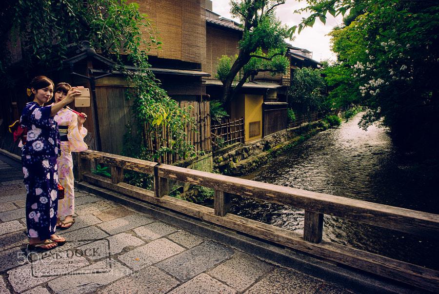 Selfie in Gion