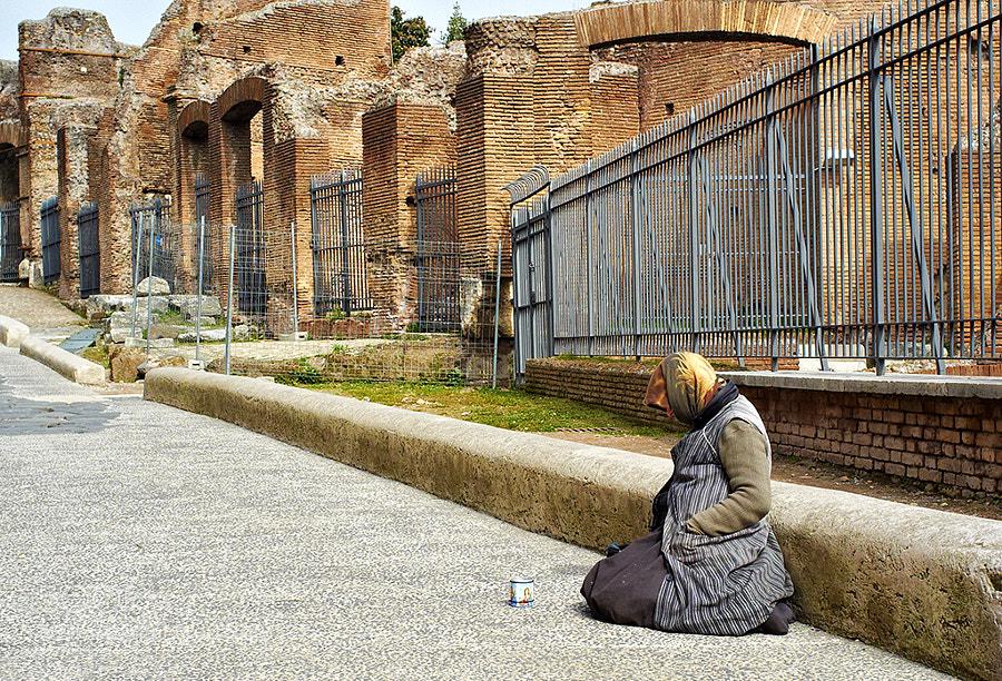 Gypsy Beggar, Rome