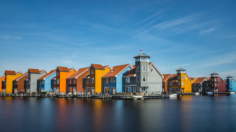 Reitdiephaven by Oliver Michels on 500px.com