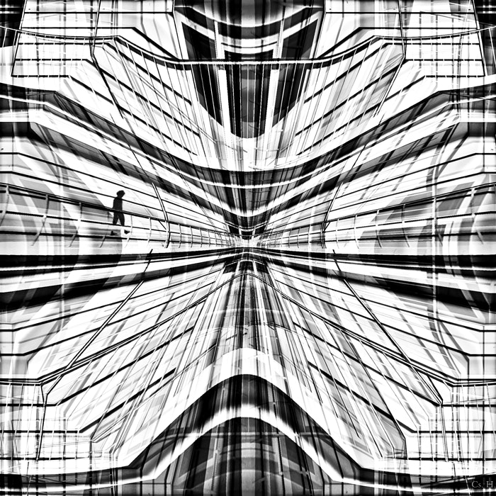 Photograph Walking in the Matrix by Cs. H. on 500px