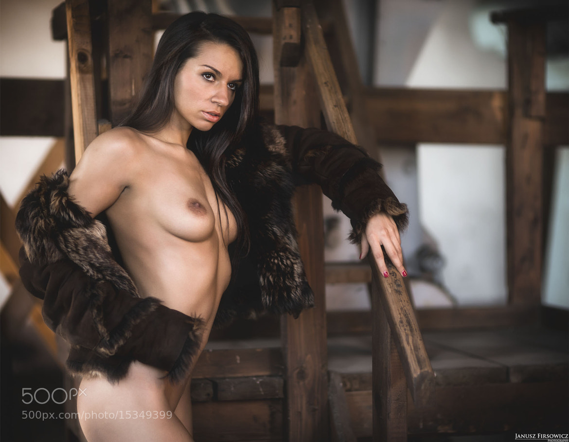 Photograph Woman in fur by Janusz Firsowicz on 500px