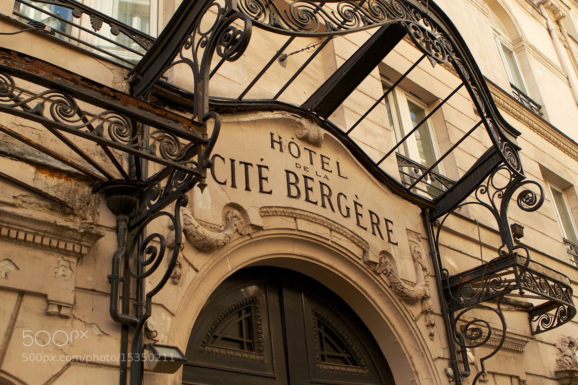 Photograph Cite Bergere by Phil Erhart on 500px