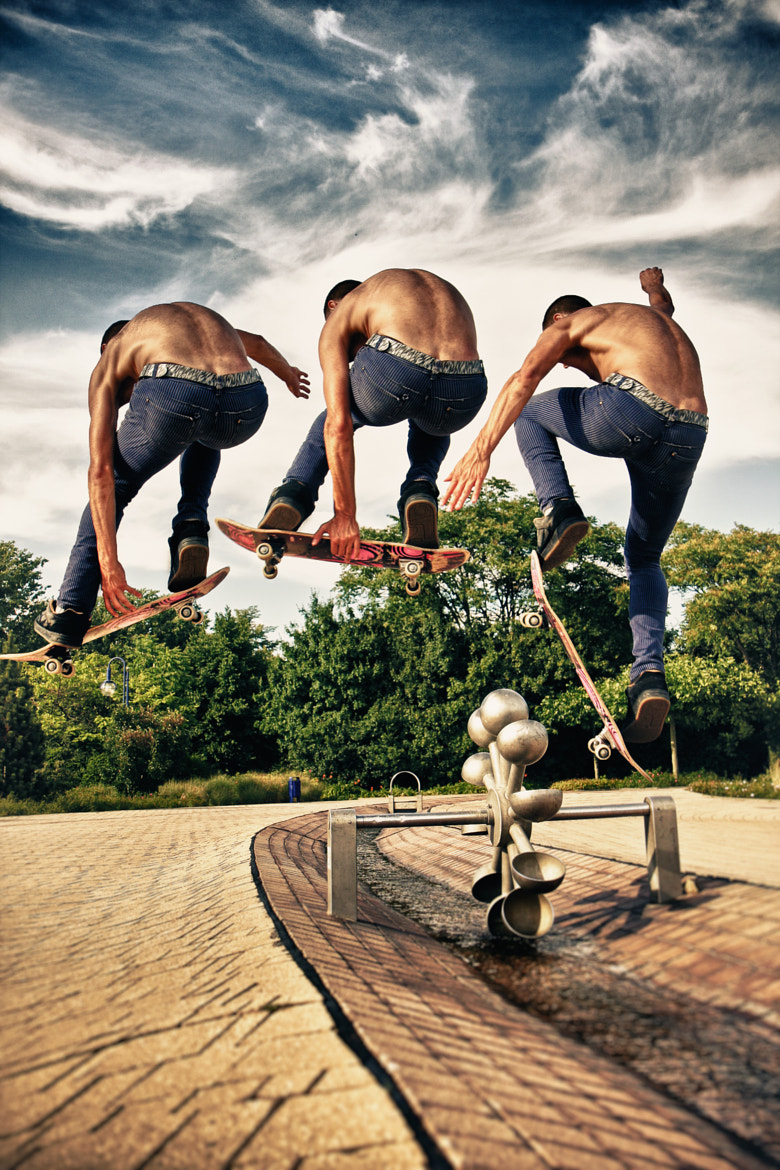 Photograph Skateborder Flight Sequence / Series by Dr. Martin Zeile on 500px