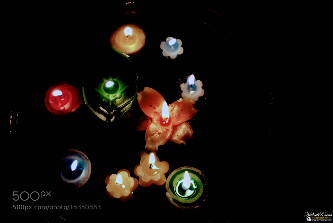 Photograph Floral Candles by One Eyed Man on 500px