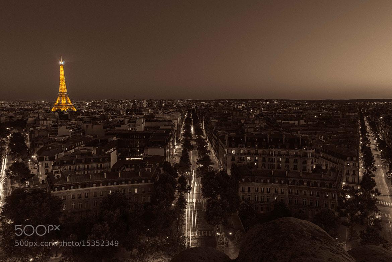 Photograph Chocolat et Eiffel by Jitendra Sharma on 500px