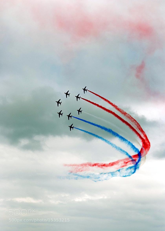 Photograph Patrouille de France by Øyvind Andersen on 500px