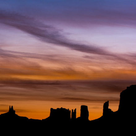 Amanecer Monument Valley, Nikon D7100, Sigma 17-70mm F2.8-4 DC Macro OS HSM Contemporary